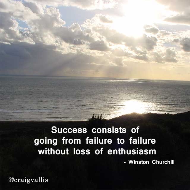 Inspirational Quotes About Failure: CraigVallis